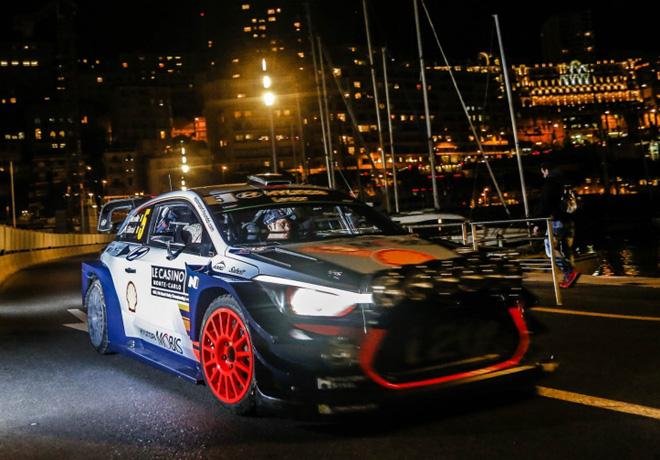 WRC - Monaco 2017 - Dia 1 - Thierry Neuville - Hyundai i20 WRC