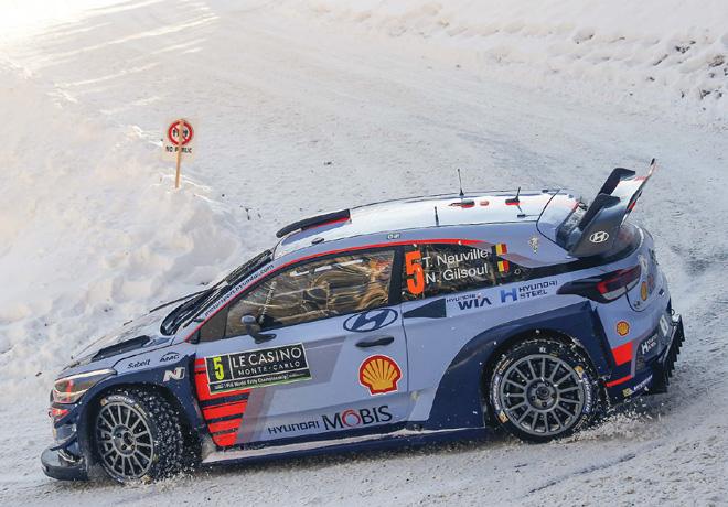WRC - Monaco 2017 - Dia 2 - Thierry Neuville - Hyundai i20 WRC