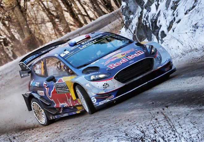 WRC - Monaco 2017 - Dia 3 - Sebastien Ogier - Ford Fiesta WRC