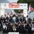 WRC - Monaco 2017 - Final - Sebastien Ogier y el equipo M-Sport en el Podio