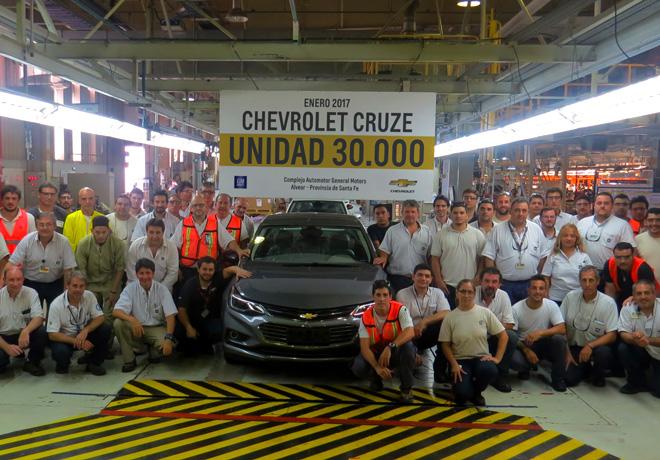 Chevrolet Cruze - Unidad 30mil