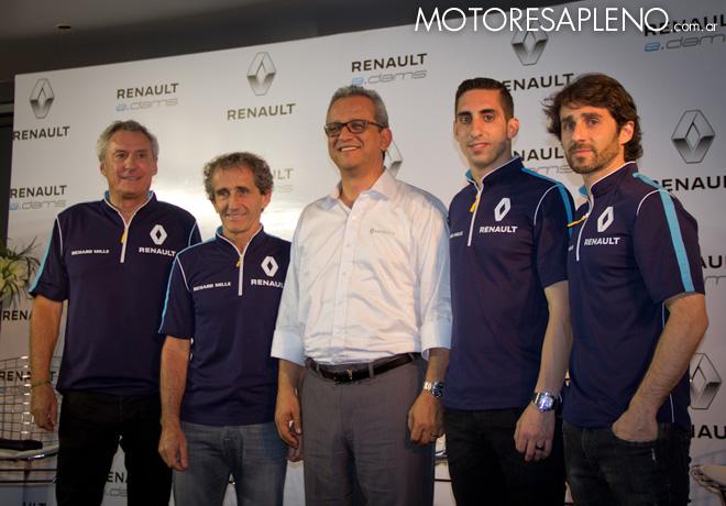 Formula E - Buenos Aires - Argentina 2017 - Renault eDams