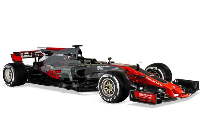 Haas F1 Team VF-17 1