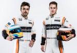 McLaren MCL32 - Fernando Alonso - Stoffel Vandoorne