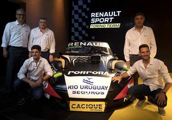 Renault Sport presento sus dos Torino para el Turismo Carretera