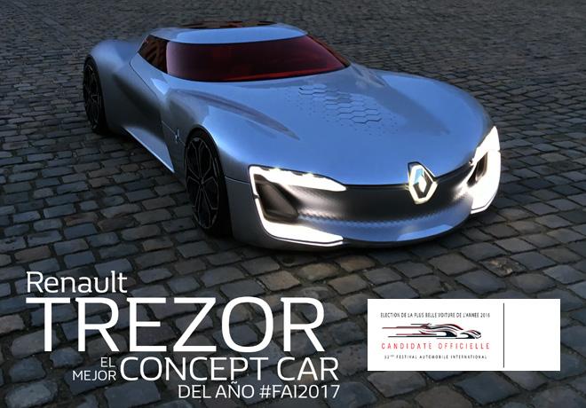 Renault Trezor - Mejor Concept Car FAI2017