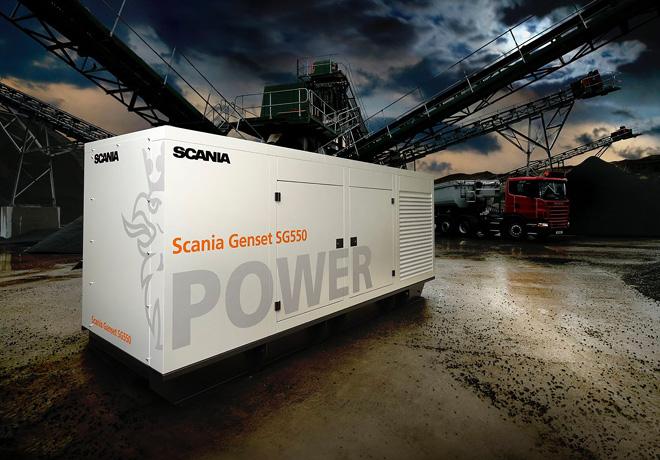 Scania Genset SG550