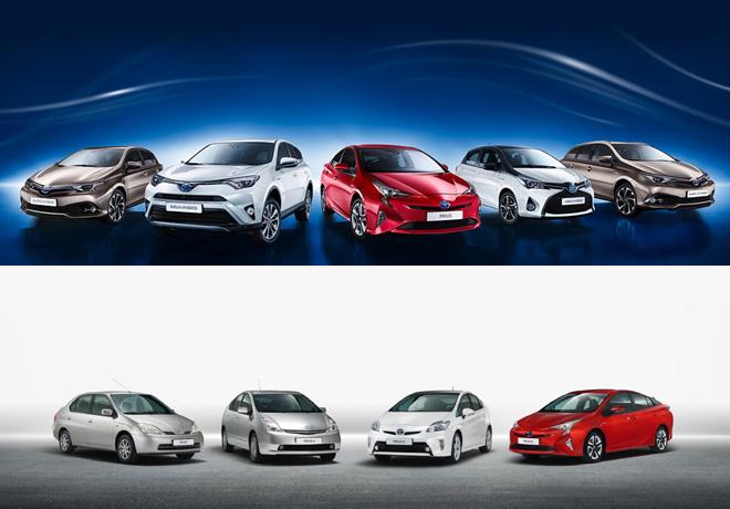 Toyota supera los 10 millones de hibridos vendidos en todo el mundo