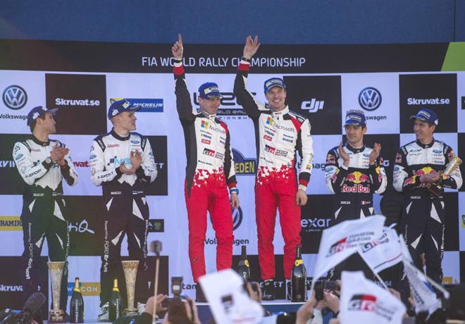 WRC - Suecia 2017 - Final - El Podio