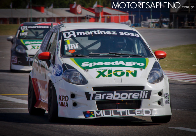 Abarth Competizione - Buenos Aires 2017 - Carrera 1 - Daniel Belli