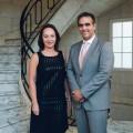 Barbara Konner y Pablo Di Si - Nuevas autoridades de la Camara de Industria y Comercio Argentino-Alemana