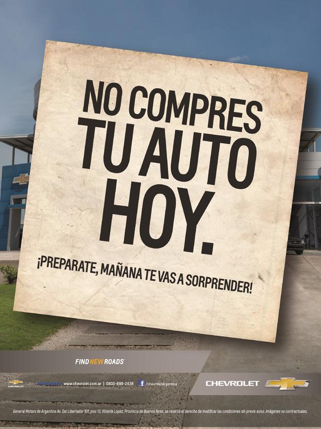 Chevrolet - No compres tu auto hoy