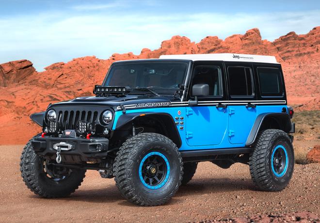 Easter Jeep Safari de Moab 2017 - Jeep Luminator