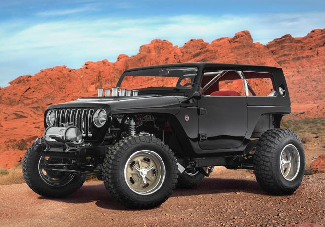 Easter Jeep Safari de Moab 2017 - Jeep Quicksand