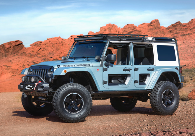 Easter Jeep Safari de Moab 2017 - Jeep Switchback