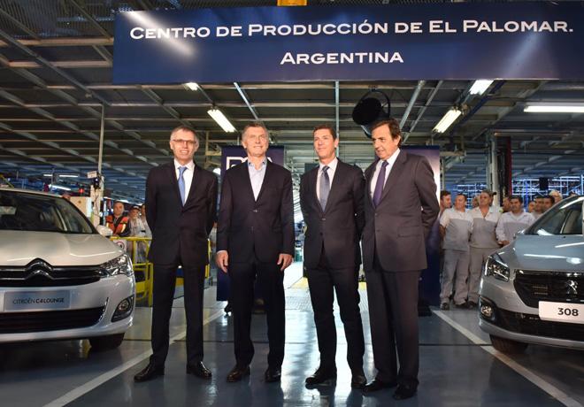 El Grupo PSA lanzo la transformacion industrial de su Centro de Produccion de El Palomar en Argentina