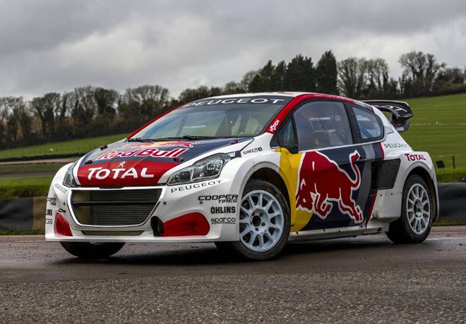 El Team Peugeot Hansen revelo el 208 WRX 2017 1