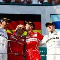 F1 - Australia 2017 - Carrera - Lewis Hamilton - Sebastian Vettel - Valtteri Bottas en el Podio
