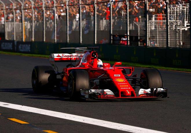 F1 - Australia 2017 - Carrera - Sebastian Vettel - Ferrari