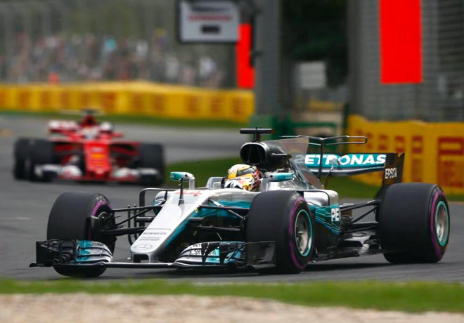 F1 - Australia 2017 - Clasificacion - Lewis Hamilton - Mercedes GP