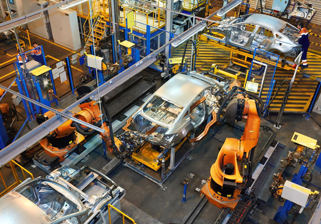 Ford introduce impresoras 3D en la línea de montaje.