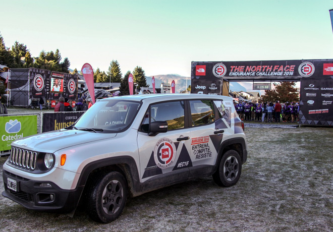 Jeep esta presente en The North Face Endurance Challenge 2017