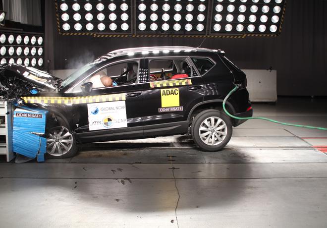 Latin NCAP - Seat Ateca - con 7 Airbags
