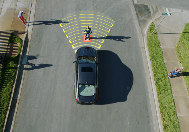Los vehiculos inteligentes de Ford promueven la conduccion segura previendo el comportamiento de los conductores - Deteccion de peatones