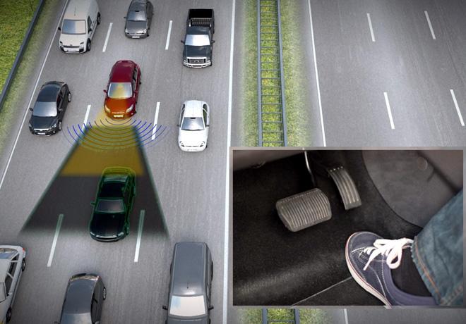 Los vehiculos inteligentes de Ford promueven la conduccion segura previendo el comportamiento de los conductores - Piloto automatico com Stop and Go