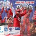 NASCAR - Fontana 2017 - Kyle Larson en el Victory Lane