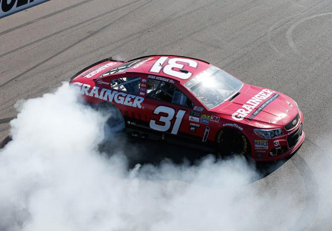 NASCAR - Phoenix 2017 - Ryan Newman - Chevrolet SS