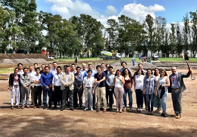 Nissan Argentina - Comienza la construccion de la nueva sede en la Provincia de Cordoba 1