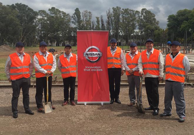 Nissan Argentina - Comienza la construccion de la nueva sede en la Provincia de Cordoba 2