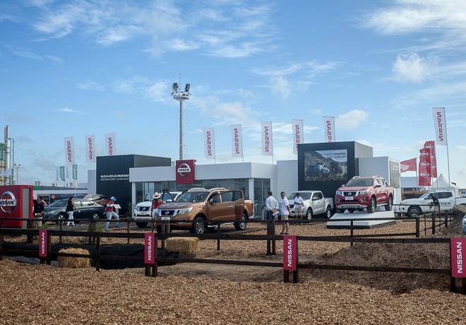 Nissan en Expoagro 1