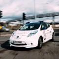 Nissan realiza las primeras pruebas de vehiculos autonomos en las calles de Europa