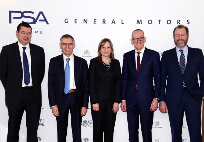 Opel y Vauxhall se unen al Grupo PSA