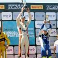 TC2000 - Alta Gracia - Cordoba 2017 - Carrera Final - Manuel Luque - Marcelo Ciarrochi - Federico Iribarne en el Podio