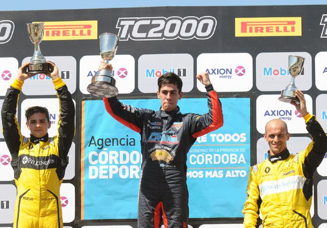 TC2000 - Alta Gracia - Cordoba 2017 - Carrera Sprint - Manuel Luque - Franco Crivelli - Mariano Pernia en el Podio