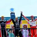 Top Race - Rio Cuarto 2017 - Carrera - Agustin Canapino - Mauro Giallombardo - Matias Rossi en el Podio