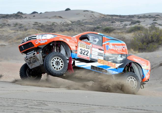 Toyota es sponsor oficial del Desafio Ruta 40