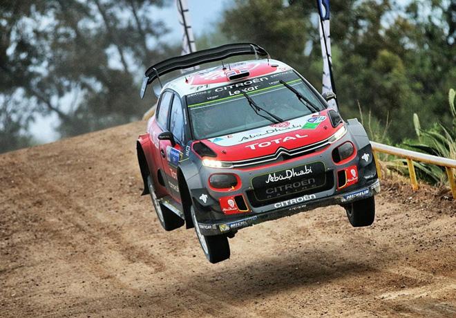 WRC - Mexico 2017 - Dia 4 - Kris Meeke - Citroen C3 WRC