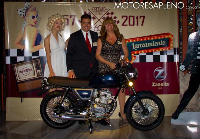 Zanella presenta el modelo Ceccato 1