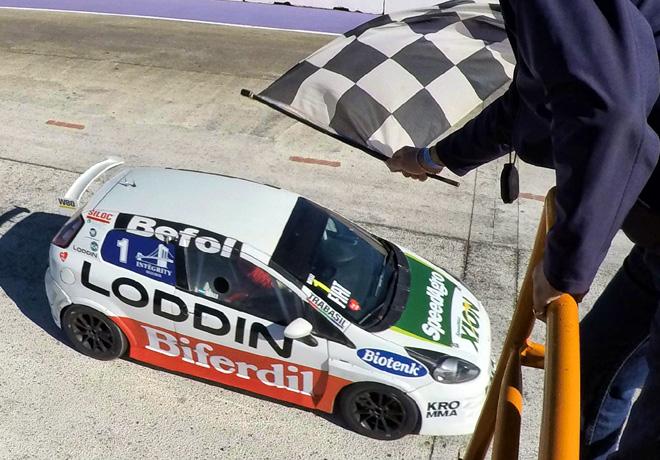 Abarth Competizione - Potrero de los Funes 2017 - Carrera 1 - Daniel Belli