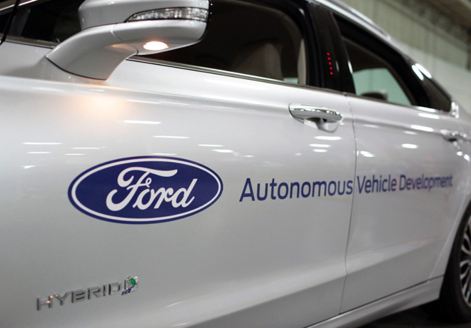 Ford - Autonomous Vehicle Development