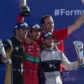 Formula E - Ciudad de Mexico 2017 - Jean-Eric Vergne - Lucas di Grassi - Sam Bird en el Podio