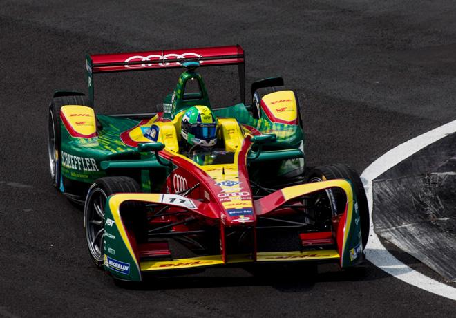 Formula E - Ciudad de Mexico 2017 - Lucas di Grassi - ABT Schaffer Audi Sport
