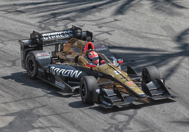 IndyCar - Long Beach 2017 - Carrera - James Hinchcliffe