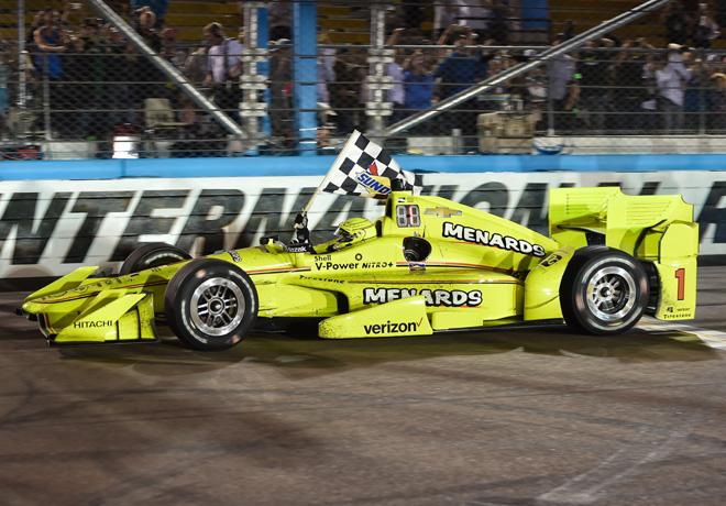 IndyCar - Phoenix 2017 - Carrera - Simon Pagenaud