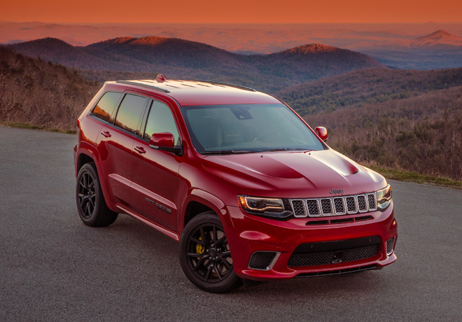 Jeep Grand Cherokee Trackhawk 2018 1