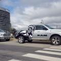 La pick up RAM nuevamente vehiculo de rescate oficial en el MotoGP